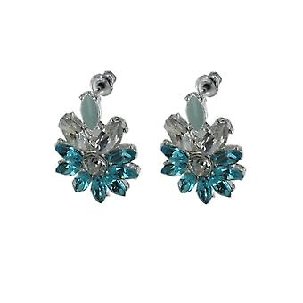 ESPRIT women's earrings glass turquoise EDER21947A000