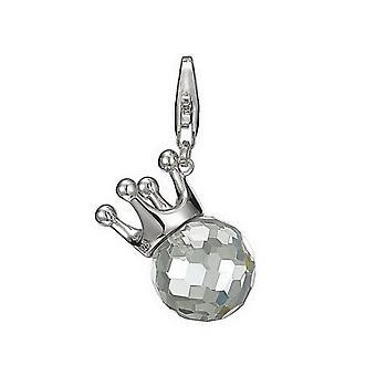 ESPRIT charms pendant silver STONE ESZZ90651B000