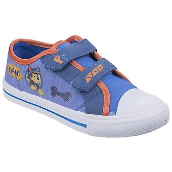 Leomil Childrens/Kids Chase Touch Fastening Canvas Shoes