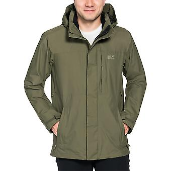 Jack Wolfskin Mens Brooks Range Flex Jacket Waterproof and Comfort