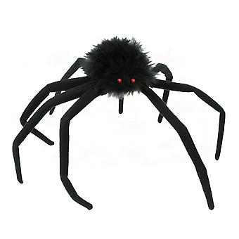 Decorative spider big black leg length 20 cm