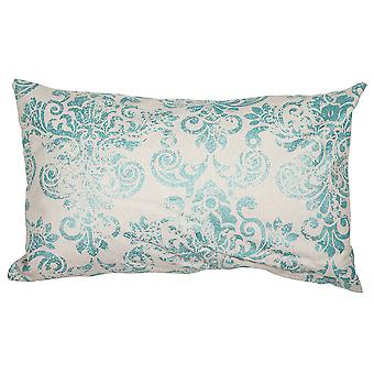 Wellindal Polyester Green Marine Cushion (Decoration , Textile , Cushions , Cushions)