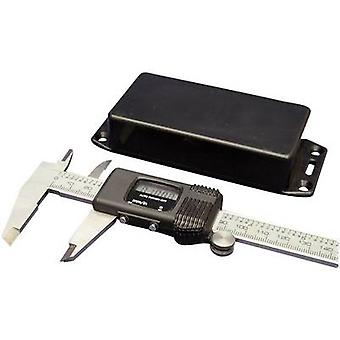 Hammond elektronikk 1591VFLBK Universal kabinett 120 x 120 x 94 akrylonitril butadien styren svart 1 eller flere PCer