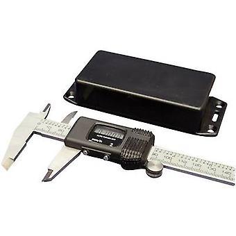 Hammond Electronics 1591BSFLBK Universal enclosure 112 x 62 x 31 Acrylonitrile butadiene styrene Black 1 pc(s)