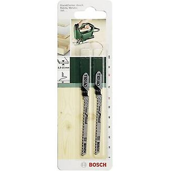 Bosch Accessories Jigsaw blade HCS, T101 AO 82 mm,2 pc(s) Saw Blade