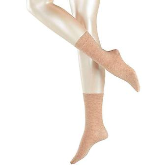 Falke Sensual Cashmere Midcalf Socks - Country Beige
