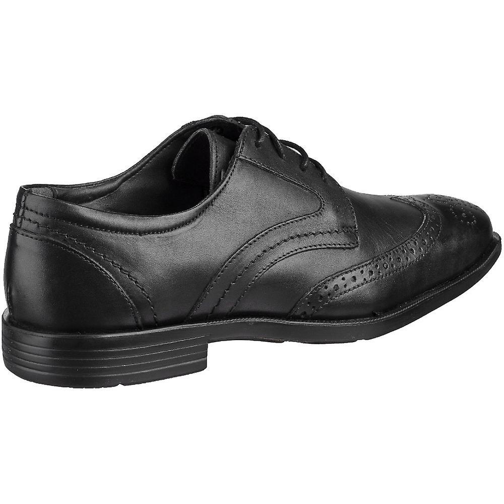 Grosvenor Mens Baldwin Wingtip Brogue Padded Lace Up Shoes