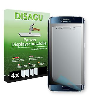 Samsung Galaxy S6 edge display protector - Disagu tank protector protector (deliberately smaller than the display, as this is arched)