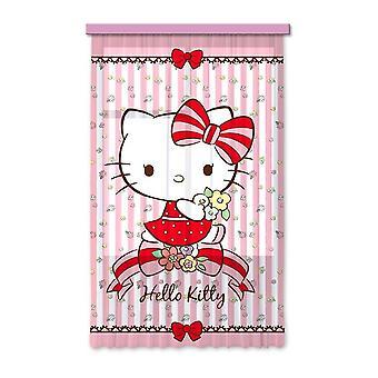 Hello Kitty 140x245cm patio drzwi kurtyna