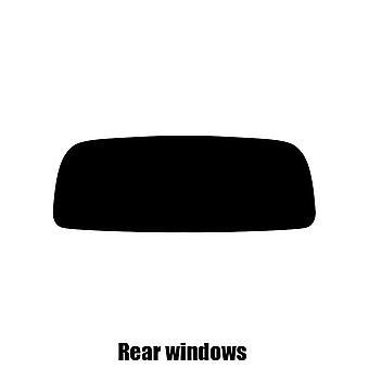 Pre cut window tint - Porsche Boxster - 2014 and newer - Rear windows
