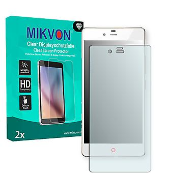 ZTE Nubia Z9 Mini Elite Screen Protector - Mikvon Clear (Retail Package with accessories)