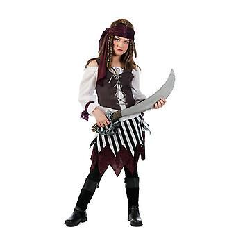 Pirantin Talia girl costume pirate mistress of the seas kids costume