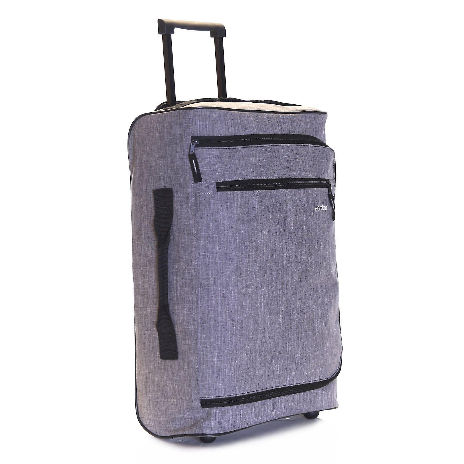 Karabar Brito Cabin Wheeled Bag, Grey