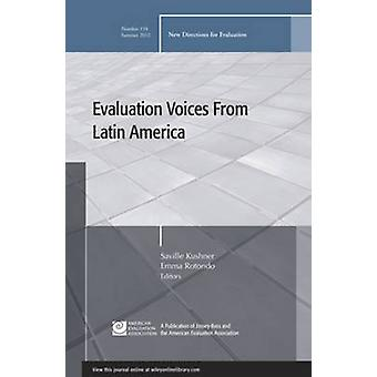 Evaluation Voices from Latin America - New Directions for Evaluation b