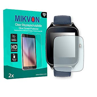 Asus ZenWatch 2 1,63 Zoll (WI501Q) Screen Protector - Mikvon Clear (Retail Package with accessories) (reduced foil)