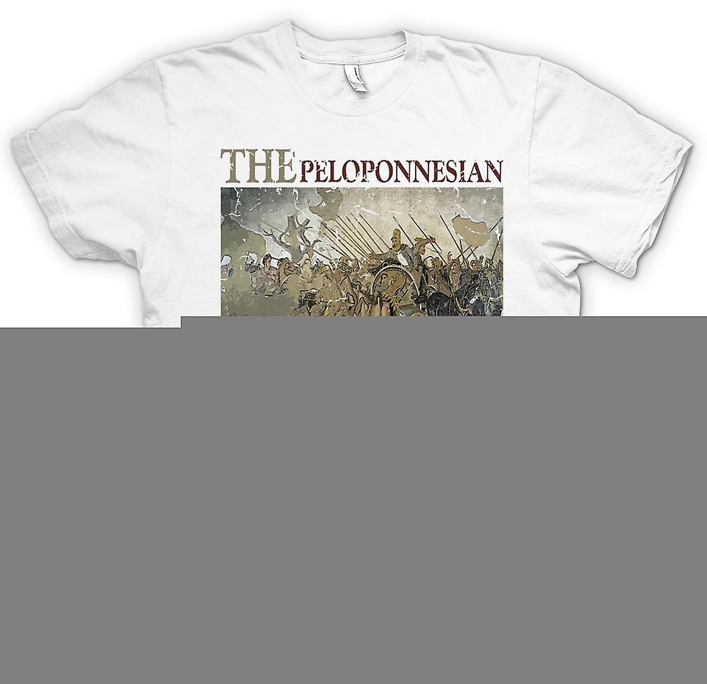Mens T-shirt - The Peloponnesian War - Sparta Inspired