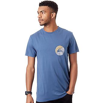 Quiksilver Dark Denim schudde Up T-Shirt