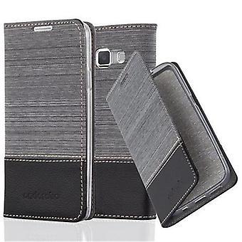 Luva de Cadorabo para o livro de saco do Samsung Galaxy A3 2015 - caso móvel com função de suporte e compartimento no design da tela - capa case luva bolsa