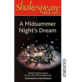 Shakespeare Made Easy - A Midsummer Night's Dream (Shakespeare Made Easy)