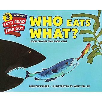 Wer frisst was?: Nahrungsketten und Nahrungsnetze (lassen Sie uns-lesen-und-Find-Out Science 2)