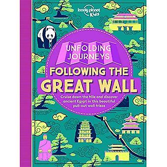 Dépliage voyages - suite de la grande muraille (Lonely Planet Kids)