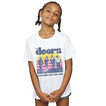 Dører jentene venter på solen bandet t-skjorte