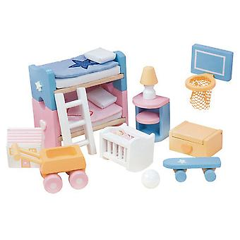 Le Toy Van Doll House Sugar Plum Children's Room
