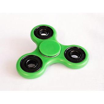 Stuff Certified ® Standard Tri Fidget Hand Spinner Anti Stress Shifter Toy Green