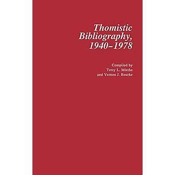 Thomistic kirjallisuuden 19401978. mennessä Miethe & Terry L.