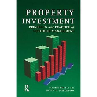 الممتلكات الاستثمارية مبادئ وممارسات إدارة المحافظ الدكتور م. آند هوسلي
