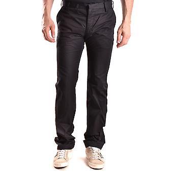 Yohji Yamamoto Black Cotton Pants