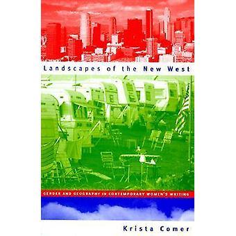 新しい西の性別と新人・ クリスタが現代女性の書面で地理学の風景