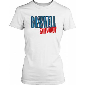 Rosewell Survivor - cospirazione Ladies T Shirt