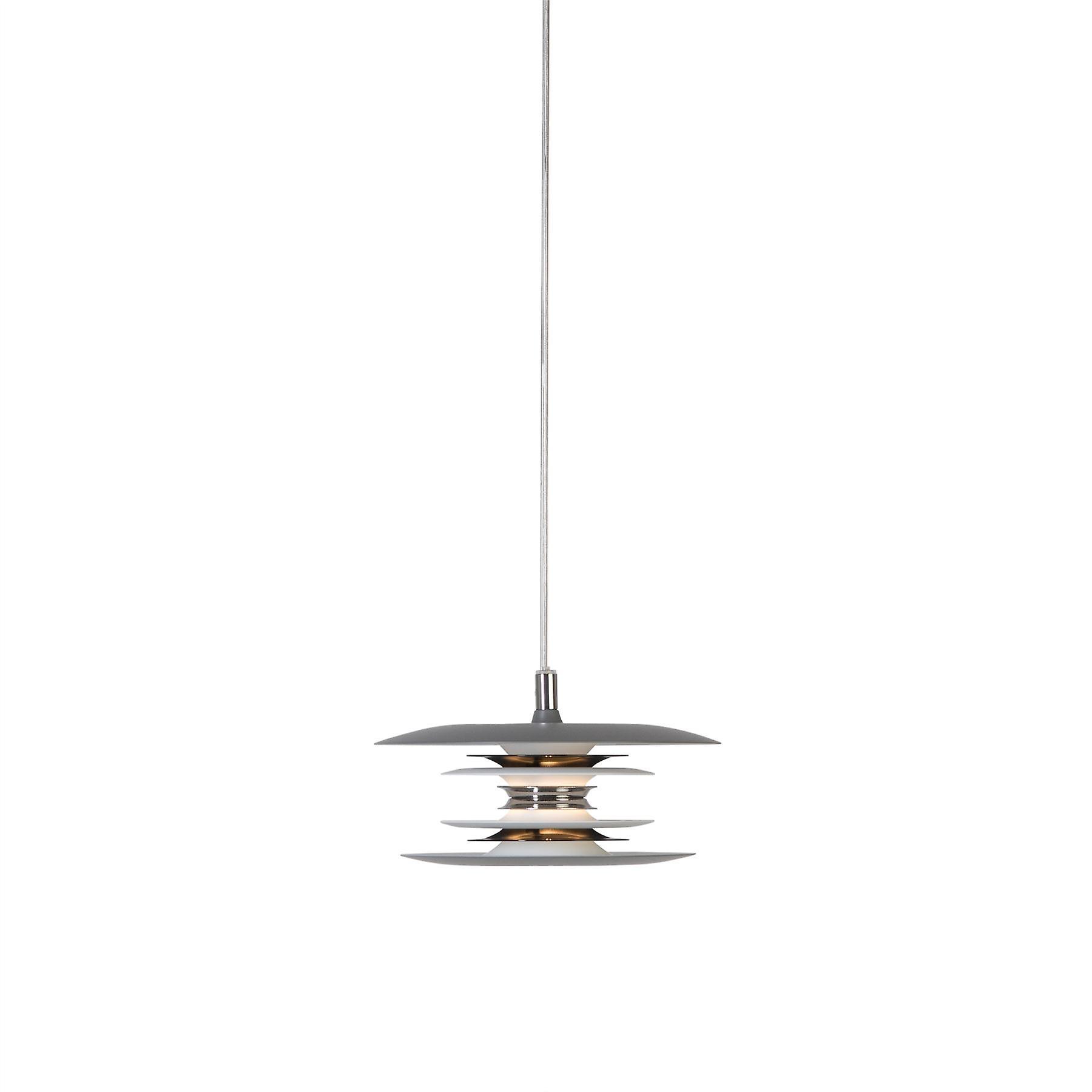 Belid - Diablo LED pendentif lumière gris, noir Shiny Finish 144748