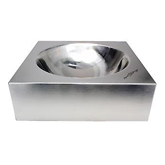 Red Dingo Stainless Steel Pet Bowl