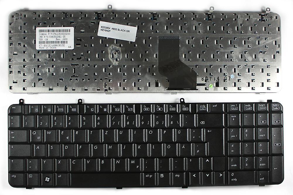 Clavier d'ordinateur portable Compaq Presario A910TU Layout allehommed noir remplaceHommest