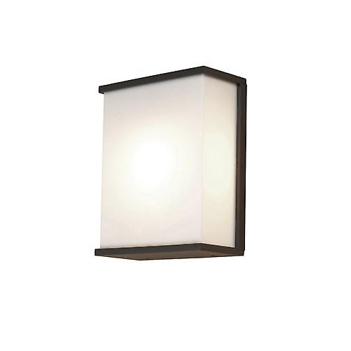 Elstead AZ/LE5 DARK GREY Azure Modern Style Low Energy Exterior Wall Light