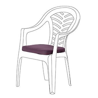 Lila Seat Cushions für Resol Palma Chair, Pack von 2