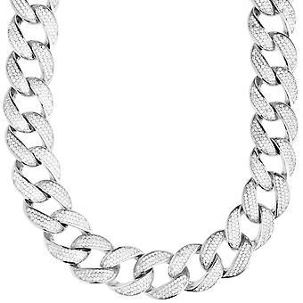 Premium bling Sterling 925 Silver Miami Cuban chain - 16mm