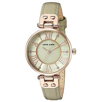 Anne Klein Ladies Watch cuir AK-2718RGSA