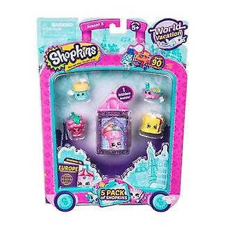 Shopkins Series 8 - Wave 3 - 5 Pack (random Pack Supplied) #56513