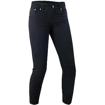Oxford Black Hinksey - Long Womens Motorcycle Jeans