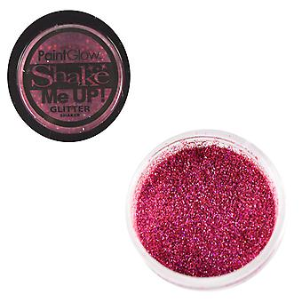 PaintGlow Glitter Shaker Holographic Rose & Fixative Gel