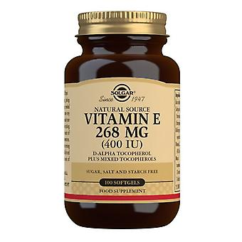 Solgar Vitamin E 268mg (400iu) Mixed Softgels 100 (3541)