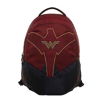 Wonder Woman ryggsekk bag W logo nye offisielle DC Comics Red