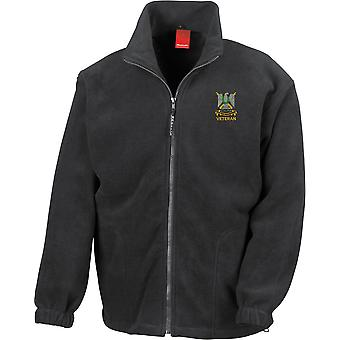 Royal Scots Dragoon Guards Veteran - Licensed British Army Embroidered Heavyweight Fleece Jacket