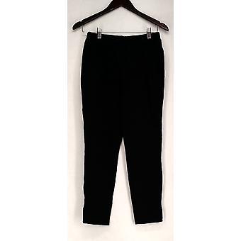 Liz Lange Leggings Cropped Ultimate Side Slit Femmes Noires 475-500