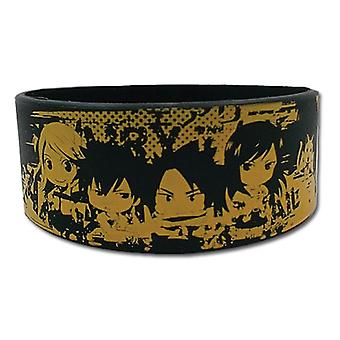 Wristband - Fairy Tail - SD Character PVC Toys Anime Licensed ge54108
