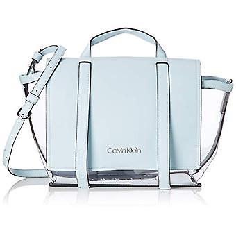 Calvin Klein Slide Top Handle Tr - Blue Women's Shoulder Bags (Pale Blue) 12.5x30x41 cm (B x H T)