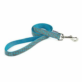 Ancol Reflective Paw Pint Dog Lead
